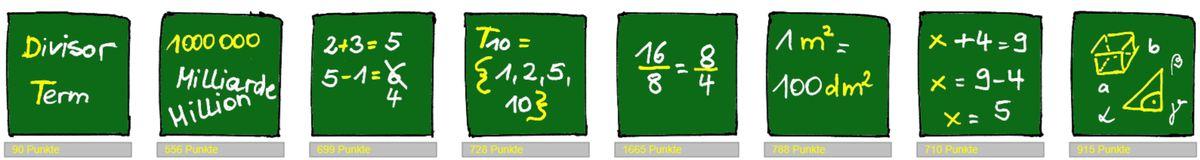 Bilder aus Mathematik für DaZ