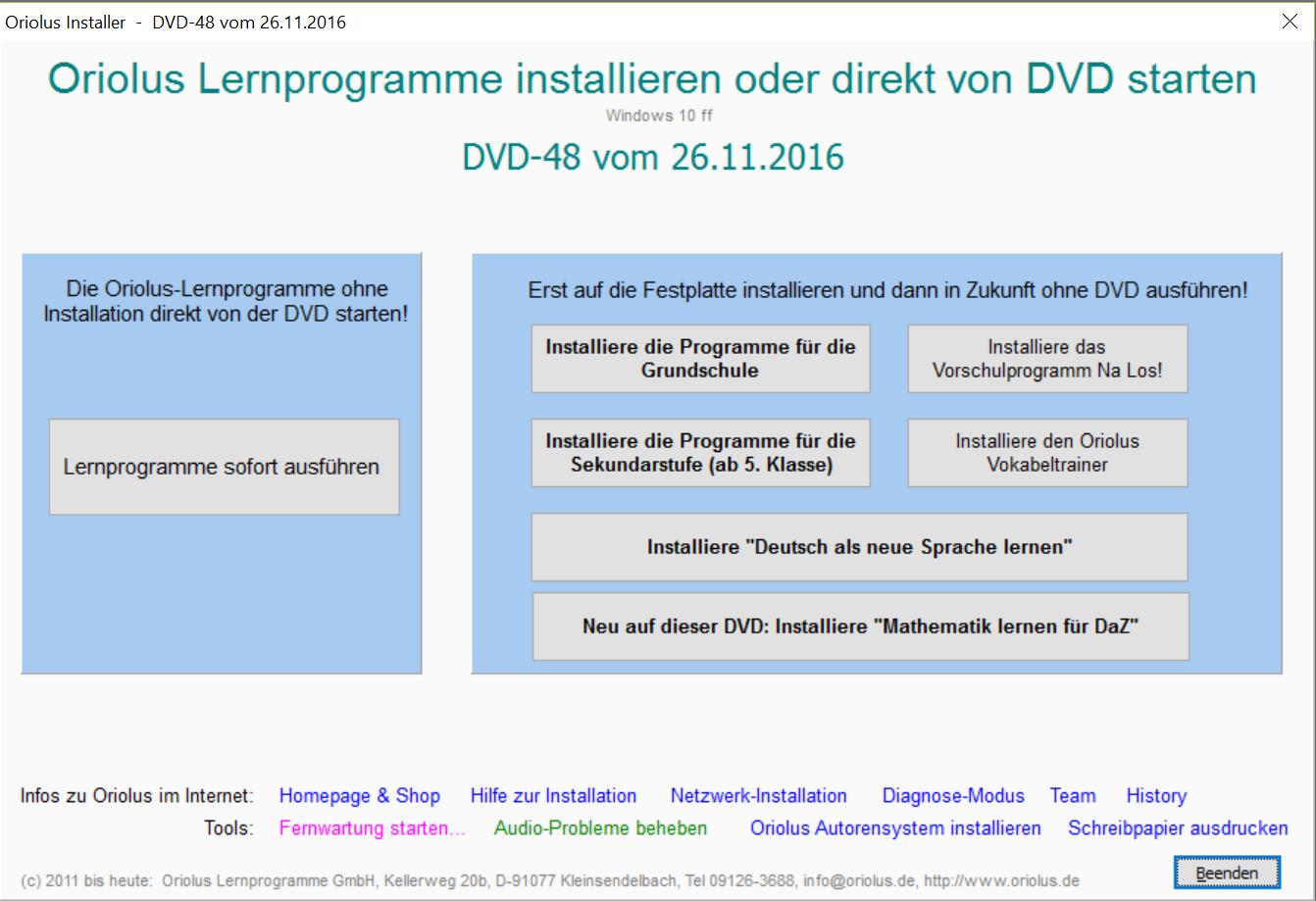 Installationsprogramm