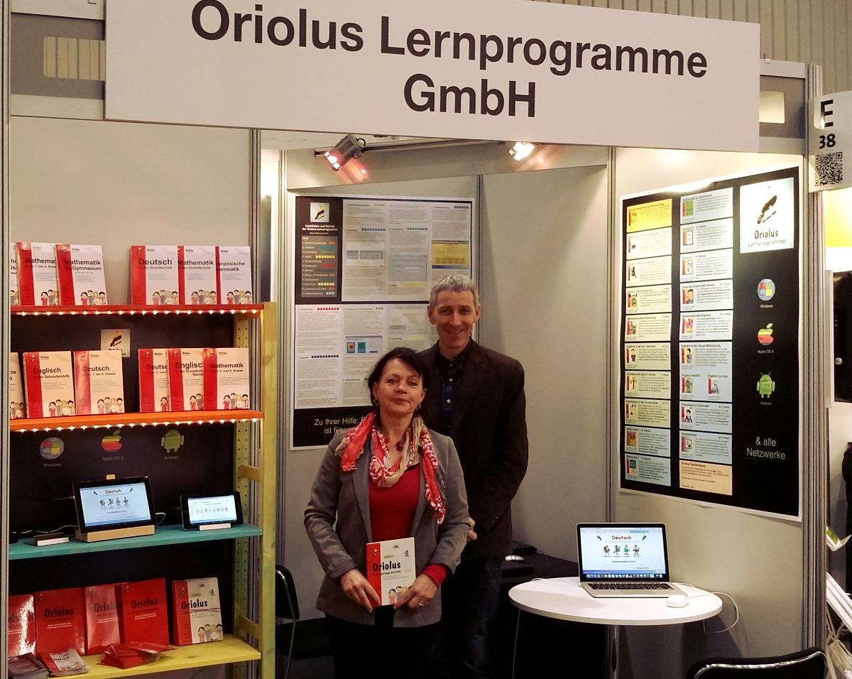 Rosi Bock und Joachim Kleinlein didacta 2015