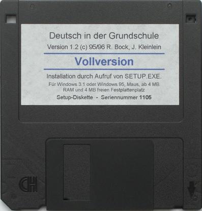 Erste Diskette