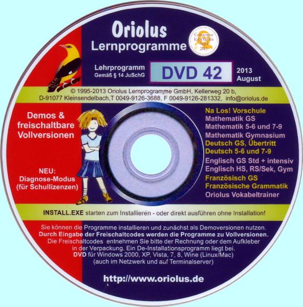 Oriolus DVD