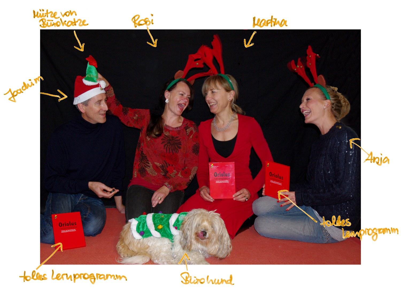 Weihnachtsbild 2012 Oriolus
