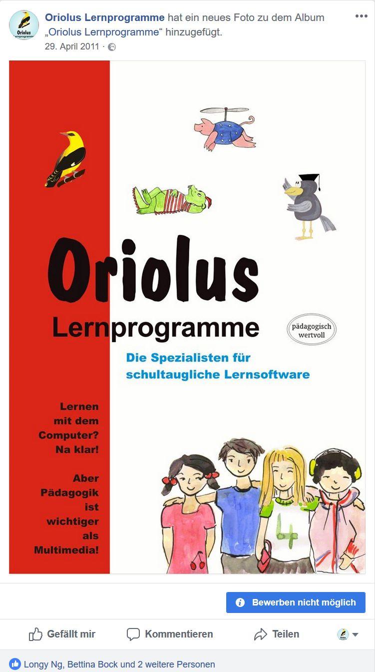Oriolus auf Facebook